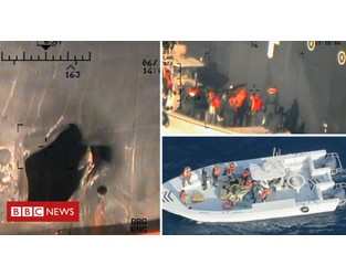 US sends more troops amid tanker attack tension - BBC