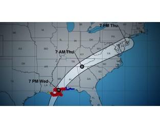 Hurricane Zeta strengthens as risk of multi-billion dollar loss rises