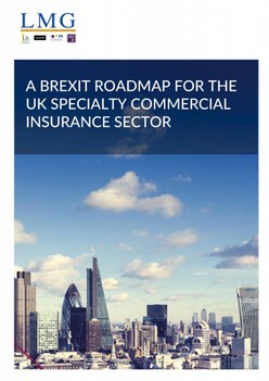 LMG publishes Brexit recommendations for Government
