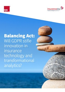 Balancing Act: Will GDPR stifle innovation in insurance technology and transformational analytics?