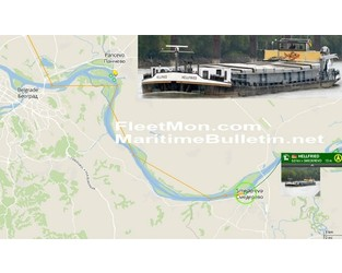 German freighter attacked, fuel siphoned – on Danube river, EU, not in Gulf of Guinea - FleetMon