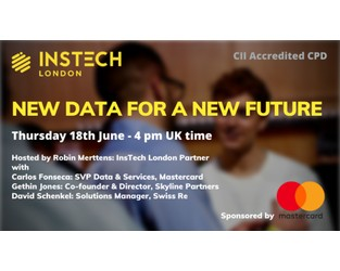 Webcast: New Data for a New Future