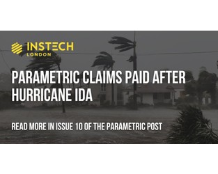 Parametric insurance in practice - The Parametric Post Issue 10