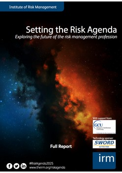 Setting the Risk Agenda - Exploring the future of the risk management profession