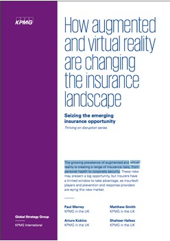 How augmented and virtual reality are changing the insurance landscape