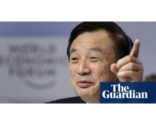 Huawei boss: UK 'won't say no to us' over 5G rollout - The Guardian