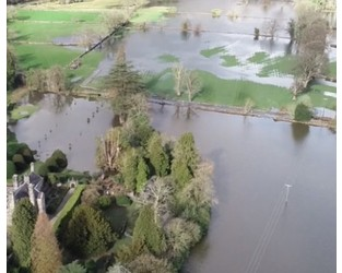 Flood risk: how satellite imagery can support response and recovery