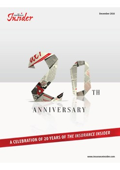 A celebration of 20 Years of The Insurance Insider