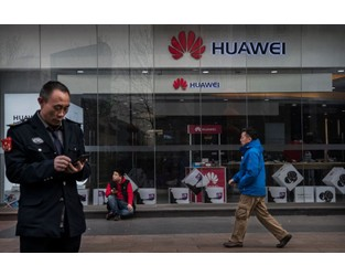 Huawei Is the Long Fuse in Trump's Trade War - Bloomberg