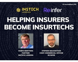 Webcast: Re:infer - Helping Insurers Become InsurTechs