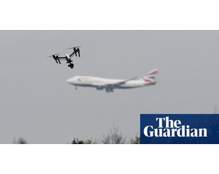 Flights delayed as drones fly near East Midlands airport - The Guardian