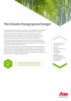 The climate change gamechanger