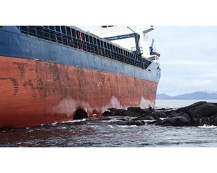 Video: Grounded Freighter Scrapped at Drydock Basin in NW Scotland - FleetMon