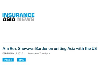 AM RE's Shevawn Barder on uniting Asia with the US - Insurance Asia News
