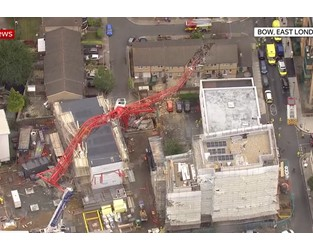 Collapsed crane was erected day before tragedy - Construction Enquirer