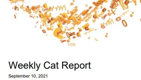 Weekly Cat Report - September 10, 2021