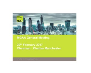 MGAA General Meeting 20 Feb 2017