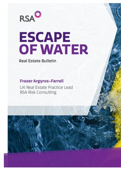 Escape of Water: Real Estate Bulletin