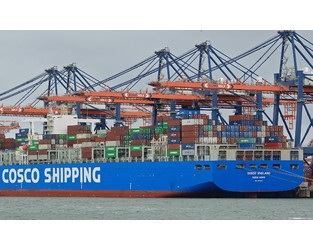 COSCO England Collides with Another Ship at Port Kelang - WMN