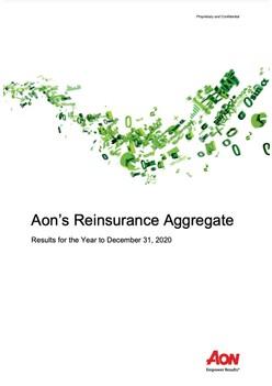 Aon's Reinsurance Aggregate