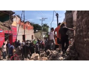 American in Mexico: Quake Was 'Crazy' - AP