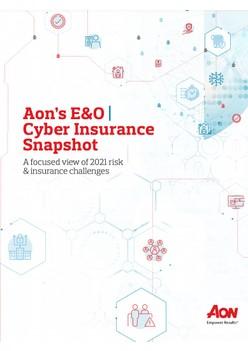 Aon's E&O: Cyber Insurance Snapshot