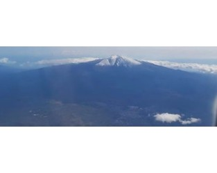 Ash emissions at Etna volcano disrupt flights at Catania International Airport, Italy - The Watchers