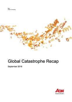 Global Catastrophe Recap - September 2018