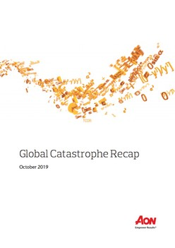 Global Catastrophe Recap - October 2019