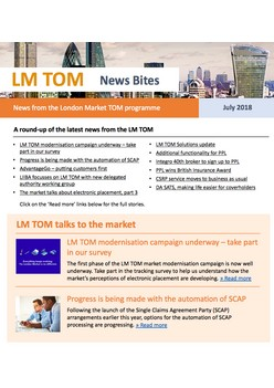 TOM News Bites - July 2018