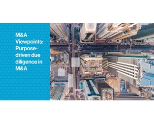 Viewpoints: Purpose-driven due diligence in M&A