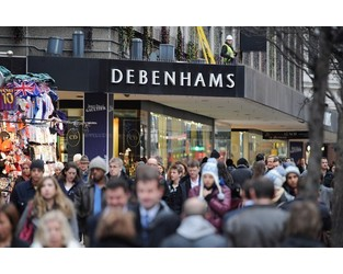 Debenhams prepares to ask lenders for extra £50m lifeline - City A.M.