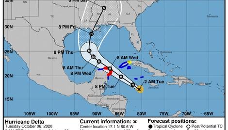 Hurricane Delta to hit Cat 3+, threaten Mexico's FONDEN 2020 cat bond