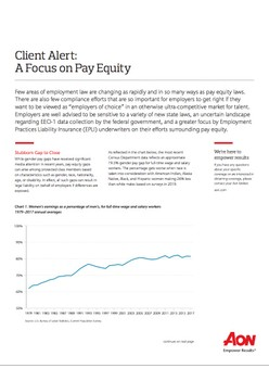 Client Alert: A Focus on Pay Equity