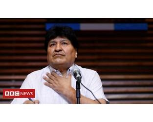 Bolivian judge annuls Evo Morales' arrest warrant - BBC