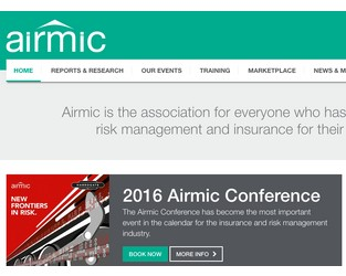 Airmic launches new website promises different look and greater ease of use