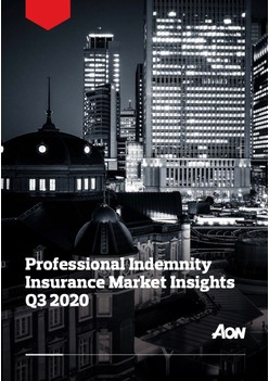 Professional Indemnity Insurance Market Insights - Q3 2020