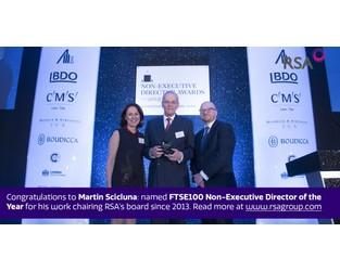Martin Scicluna named FTSE100 Non-Executive Director of the Year