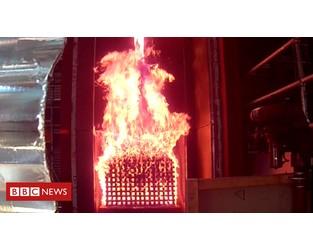 Grenfell cladding not 'uniquely dangerous' - BBC