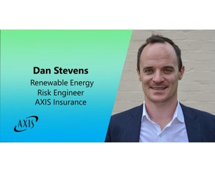 AXIS Adds Risk Engineer to Its Renewable Energy Insurance Team