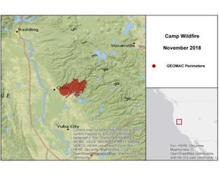 Wildfire Activity - California - Update