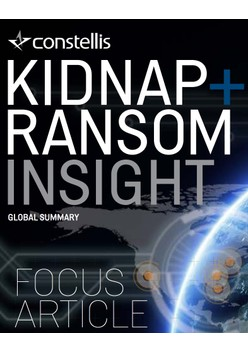 Constellis Kidnap & Ransom Insight - July 2018