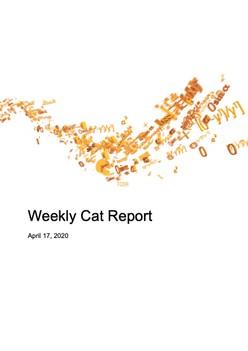 Weekly Cat Report - April 17, 2020