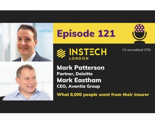Mark Patterson, Deloitte & Mark Eastham, Avantia: What 8,000 people want from their insurer