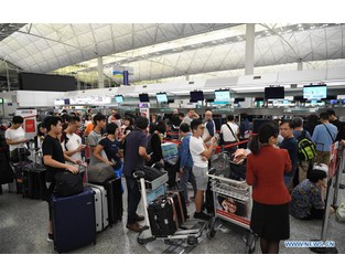 Operation of Hong Kong airport back to normal: authority - Xinhuanet