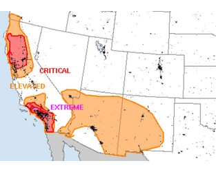 Weather Sentinel: Extremely Critical Wildfire Weather
