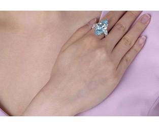 12ct. Blue Diamond Smashes Estimate at Christie's - Rapaport