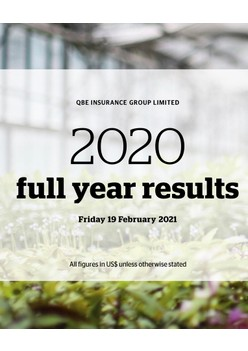 2020 Full Year Results