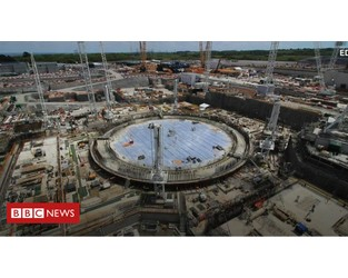 Building the UK's new 'epic' power plant - BBC