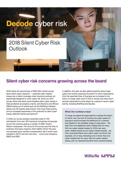 2018 Silent Cyber Risk Outlook